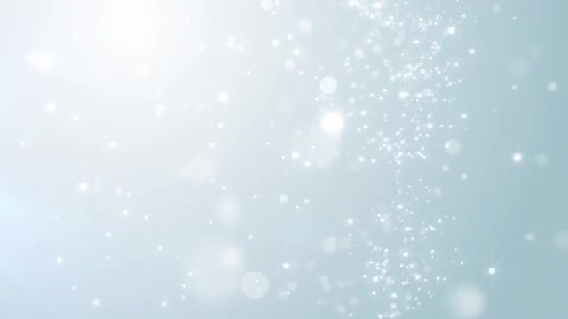 Falling Silver Particles: Stock Motion Graphics