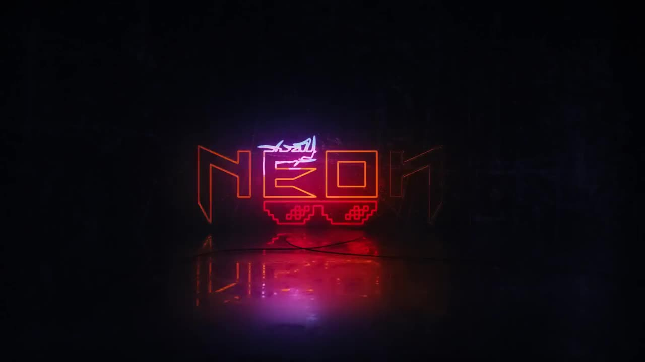 Neon Logo Reveal - After Effects Templates | Motion Array