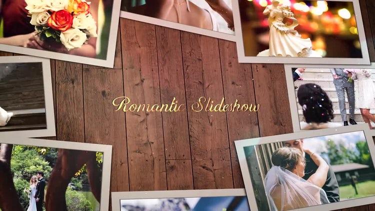 Romantic Story Slideshow: Premiere Pro Templates