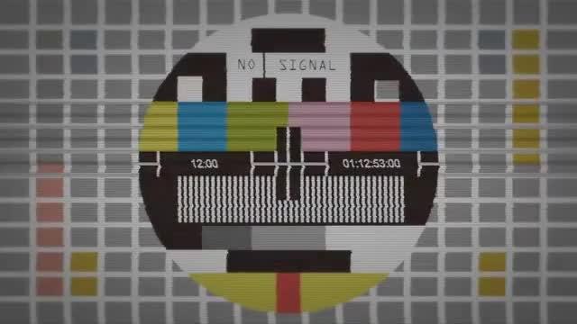 TV No Signal: Stock Motion Graphics