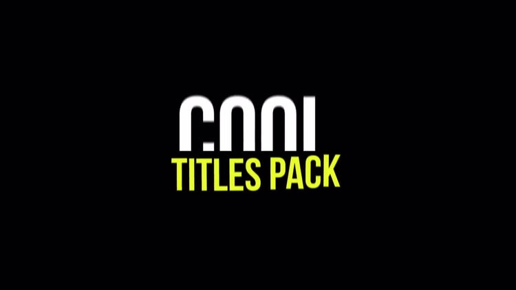 Kinetic Simple Titles Pack: After Effects Templates