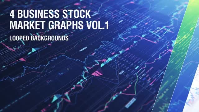 Business Stock Market Graphs V.1: Stock Motion Graphics