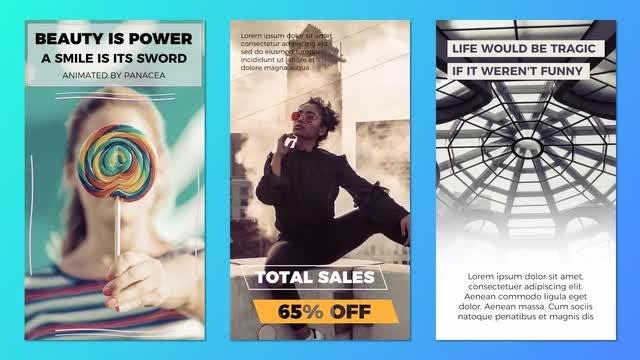 15 Instagram Stories Pack: Premiere Pro Templates