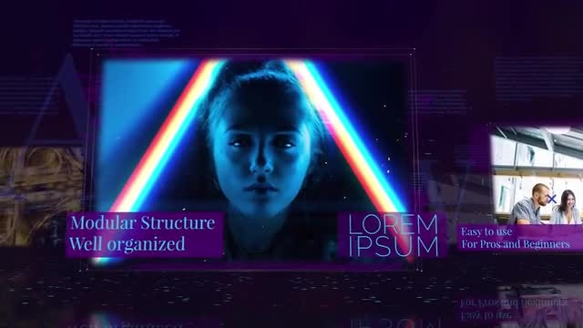 Technology Opener: After Effects Templates