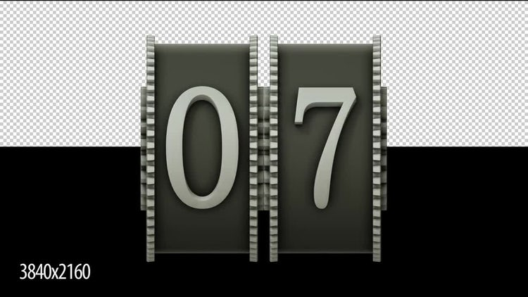 10 To 0 Reel Countdown: Stock Motion Graphics