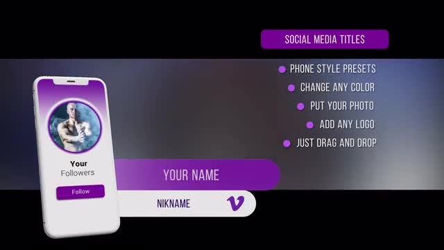 Social Media Lower Thirds: After Effects Templates