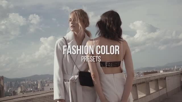 Fashion Color Presets: Premiere Pro Presets