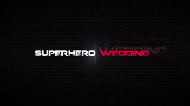 The SuperHero Wedding: After Effects Templates