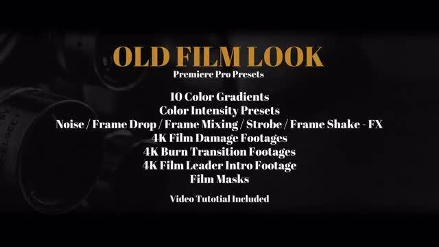 Old Film Look: Premiere Pro Presets