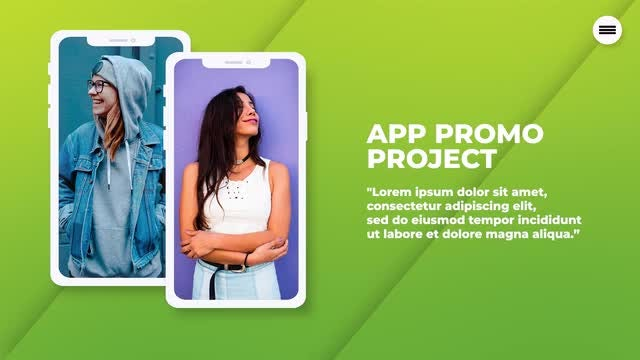 Clean APP Promo: Premiere Pro Templates