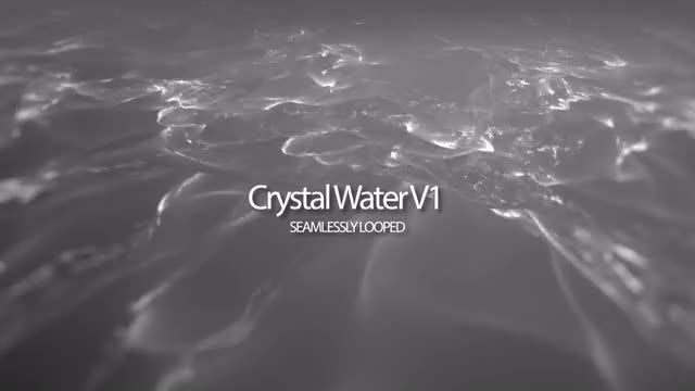 Crystal Water V1: Stock Motion Graphics