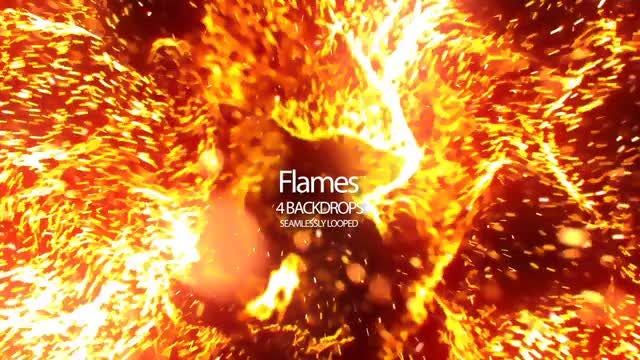Flames: Stock Motion Graphics