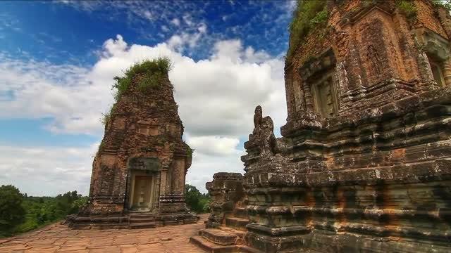 Pre Rup Temple In Cambodia: Stock Video