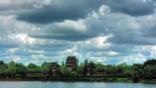 Angkor Wat Temple: Stock Video