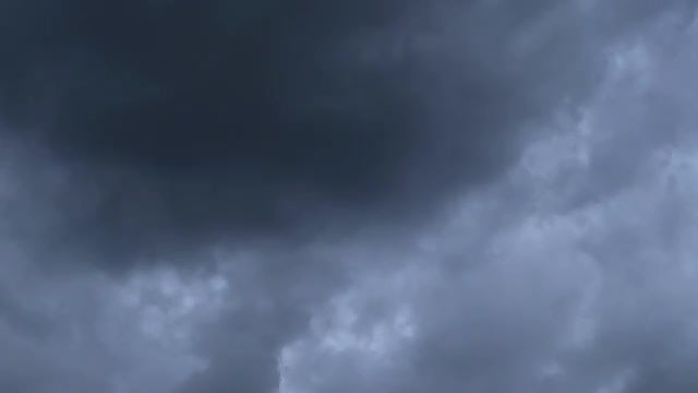 Blue-Black Stormy Weather Clouds: Stock Video