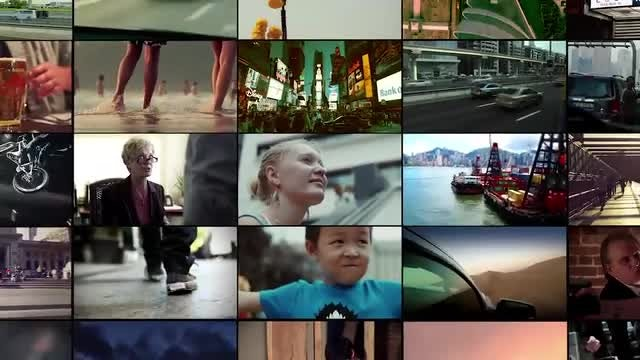 Video Wall To Logo: After Effects Templates