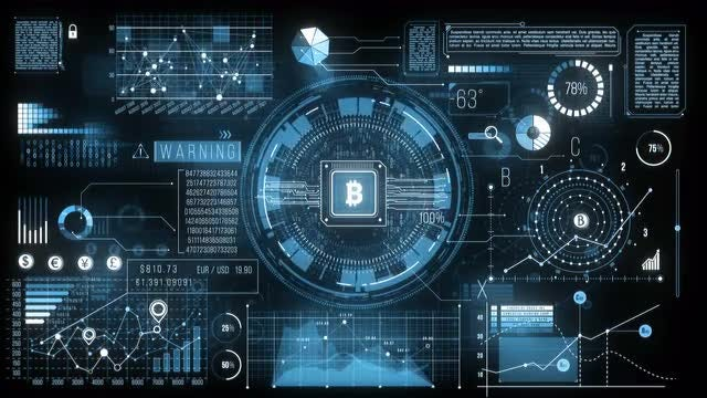 HUD Finance Screen: Stock Motion Graphics
