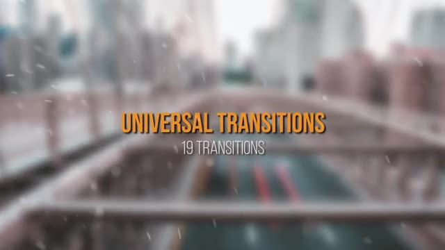 Universal Transitions: Premiere Pro Presets