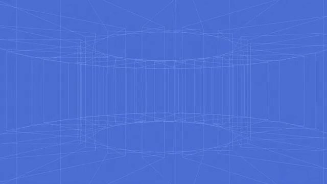 Blue Wire: Stock Motion Graphics