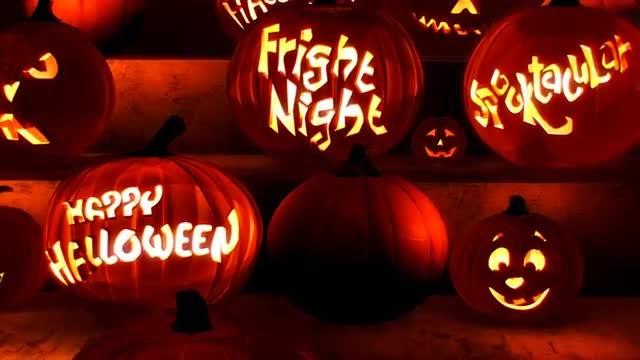 Halloween Pumpkins: Stock Motion Graphics