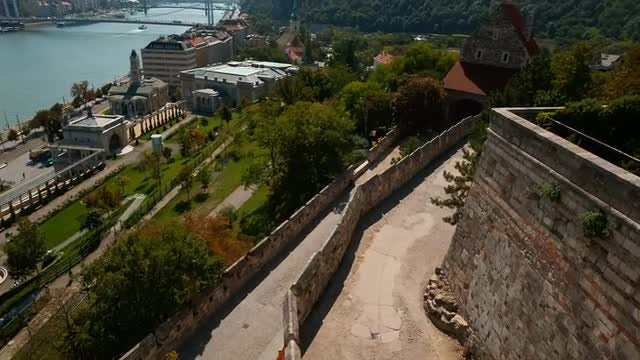 Budapest Castle And Buda District: Stock Video