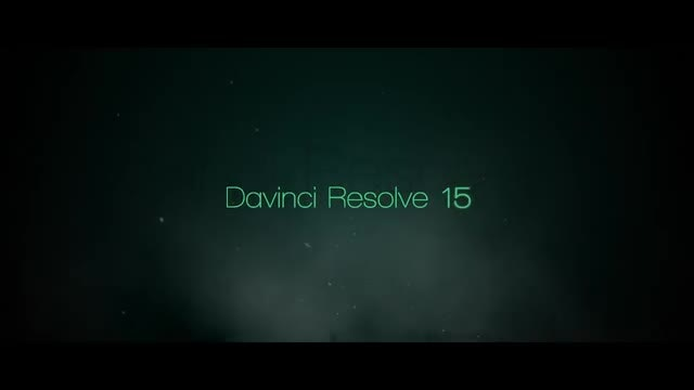Davinci resolve templates