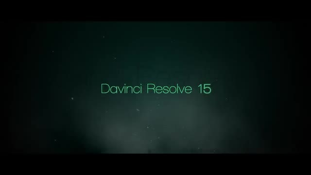 Intro Titles: DaVinci Resolve Templates