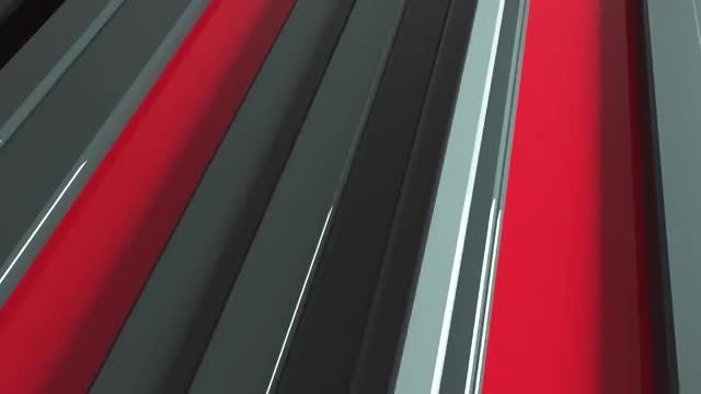 Red And Gray Bars Background: Stock Motion Graphics