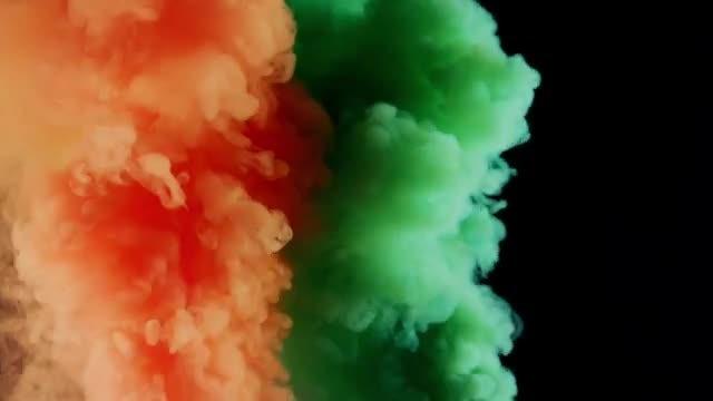 Orange And Green: Stock Video