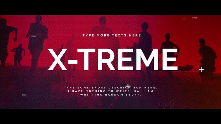 Xtreme: After Effects Templates
