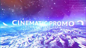 Cinematic Promo: After Effects Templates