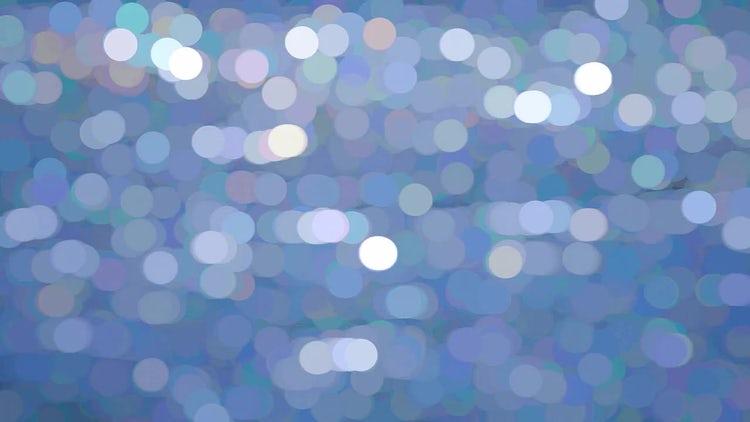 Morning Light Blue Spots: Stock Video