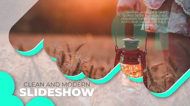 Fresh & Light Slideshow: After Effects Templates
