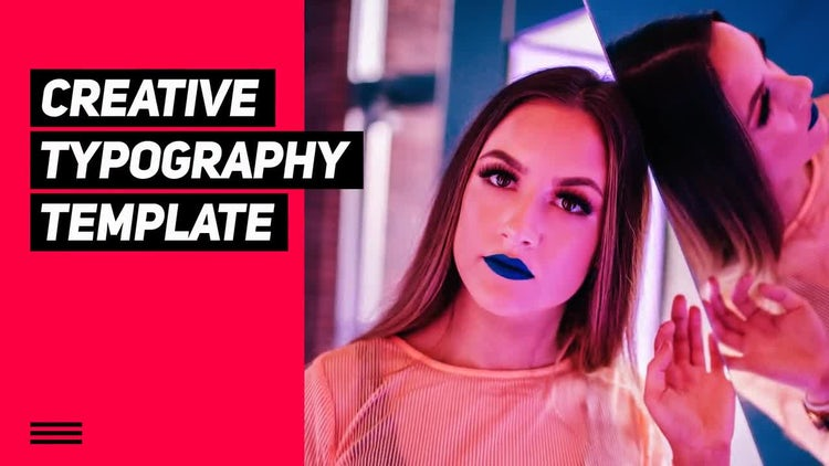 Modern Typography: Premiere Pro Templates