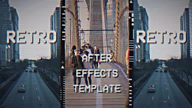 VHS Opener: After Effects Templates