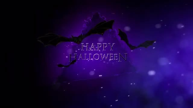 Halloween Loop: Stock Motion Graphics