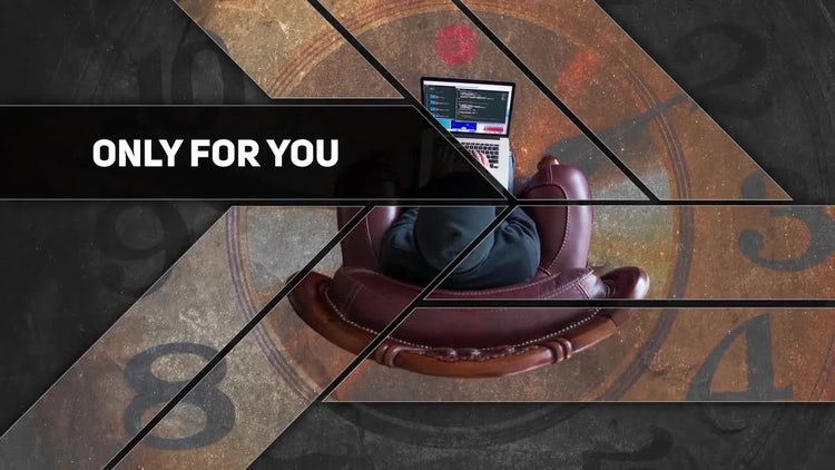Modern Slideshow: DaVinci Resolve Templates