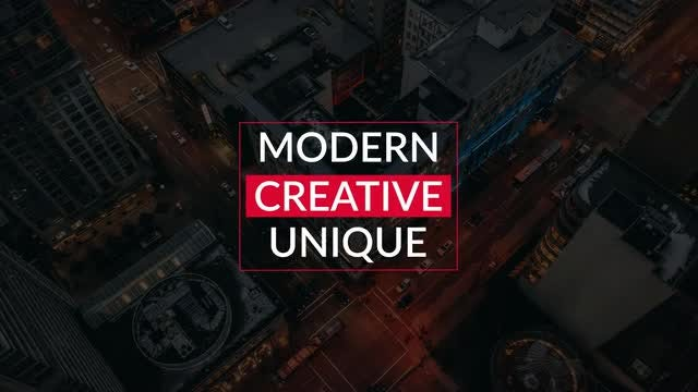Universal Titles 4k: Motion Graphics Templates