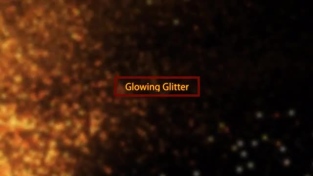 Glowing Glitter Surge Pack: Stock Motion Graphics