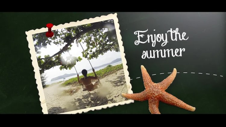 Chalkboard Images & Quotes: After Effects Templates
