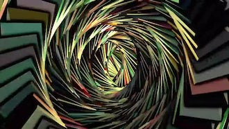 5  Vortex Abstract Backgrounds Pack: Motion Graphics