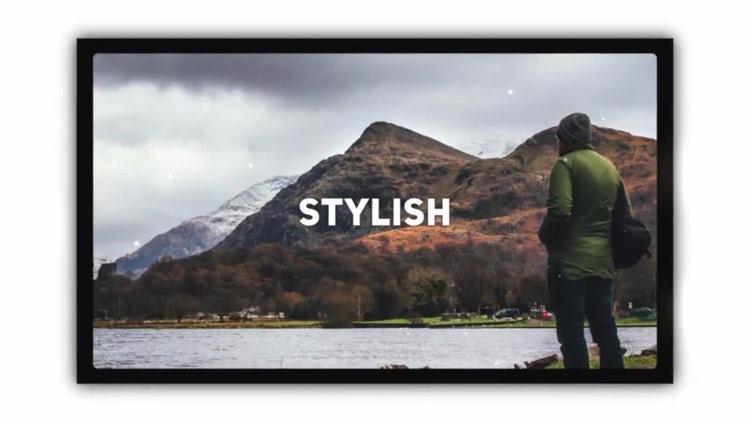 Stylish Photo Slideshow: DaVinci Resolve Templates