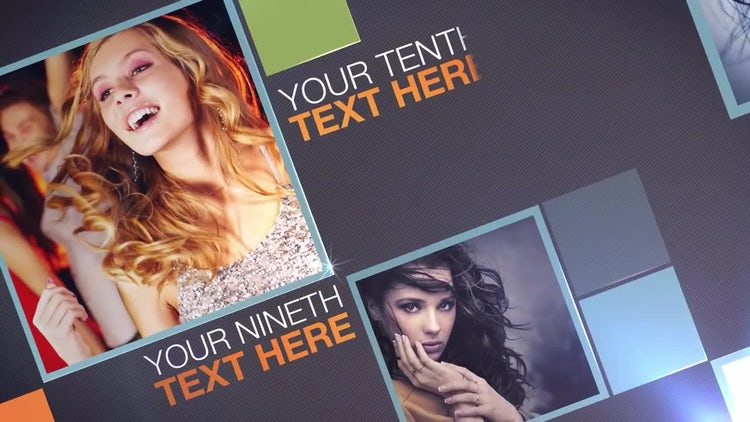 Flippin Boxes: After Effects Templates