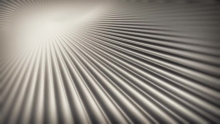 White Rotary Rays Background: Stock Motion Graphics
