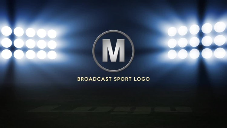 Stadium Lights Logo: After Effects Templates