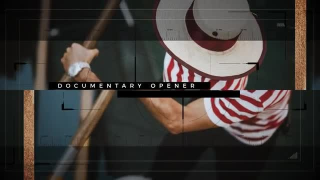 Documentary Opener: After Effects Templates