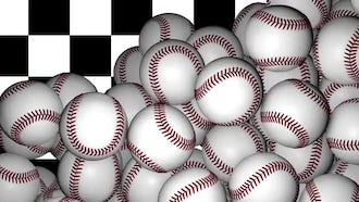 Baseball Transition: Motion Graphics