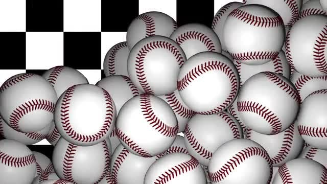 Baseball Transition: Stock Motion Graphics