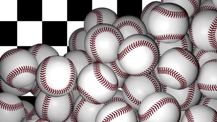Baseball Transition: Stock Motion Graphics