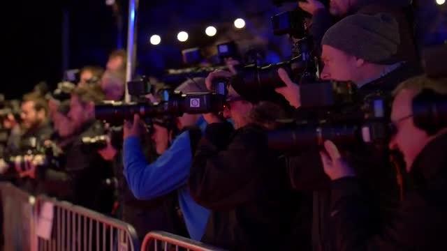 Paparazzi Photographers: Stock Video